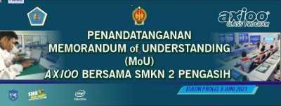 Live Streaming Penandatanganan Memorandum of Understanding (MoU) Axioo Bersama SMK N 2 Pengasih.